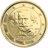 Italia 2013 2 € Giuseppe Verdi KULLATTU