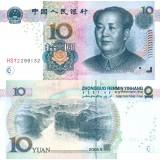 Kiina 2005 10 Yuan P904 UNC