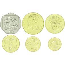 Kypros 2004 1 - 50 Cent UNC