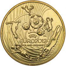 Puola 2012 2 Złoty UEFA European Football Championship UNC