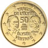 Ranska 2013 2 € Élysée-sopimus 50 vuotta KULLATTU