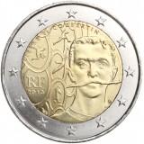 Ranska 2013 2 € Pierre de Coubertin UNC