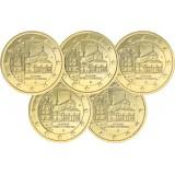 Saksa 2013 2 € Maulbronnin luostari ADFGJ KULLATTU