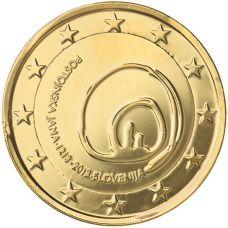 Slovenia 2013 2 € Postojnan luola KULLATTU