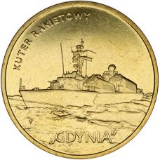 Puola 2013 2 Złoty Polish Ships - Gdynia Missile Boat UNC