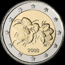 Suomi 2000 2 € UNC