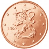 Suomi 2000 5 c UNC