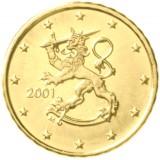 Suomi 2001 10 c UNC