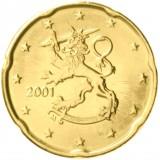 Suomi 2001 20 c UNC