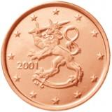 Suomi 2001 5 c UNC