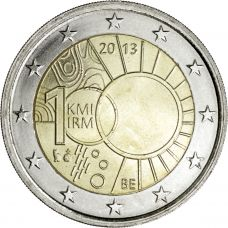 Belgia 2013 2 € Meteorologian instituutti 100 vuotta UNC