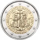 Slovakia 2013 2 € Kyrillos ja Metodios UNC