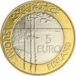 Suomi 2003 5 € Jääkiekon MM-kisat UNC
