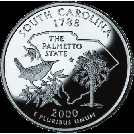 "USA 2000 $0,25 South Carolina ""D"" UNC"