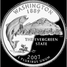 "USA 2007 $0,25 Washington ""D"" UNC"