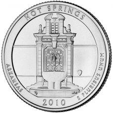 "USA 2010 $0,25 Arkansas Hot Springs National Park ""D"" UNC"
