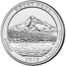 "USA 2010 $0,25 Oregon Mt. Hood National Forest ""D"" UNC"