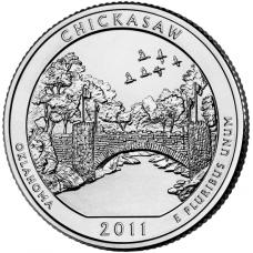 "USA 2011 $0,25 Oklahoma Chickasaw National Recreation Area ""D"" UNC"