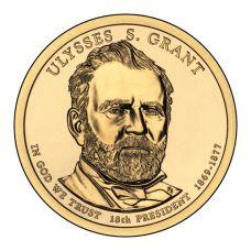 "USA 2011 $1 Presidentti Ulysses S. Grant ""D"" UNC"