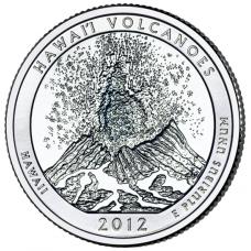 "USA 2012 $0,25 Hawaii Hawaii Volcanoes National Park ""D"" UNC"