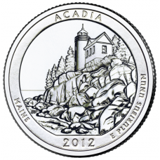 "USA 2012 $0,25 Maine Acadia National Park ""D"" UNC"