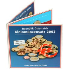 Itävalta 2002 Rahasarja BU