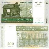Madagaskar 2004 200 Ariary P87 UNC