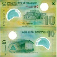 Nicaragua 2007 10 Cordobas P201-2 UNC
