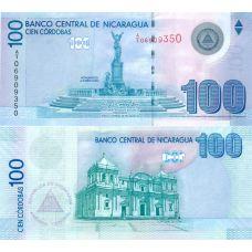 Nicaragua 2007 100 Cordobas P204 UNC