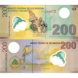 Nicaragua 2007 200 Cordobas P205b UNC