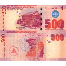 Nicaragua 2007 500 Cordobas P206 UNC