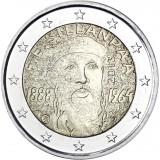 Suomi 2013 2 € F.E. Sillanpään syntymästä 125 vuotta UNC