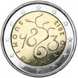 Suomi 2013 2 € Vuoden 1863 valtiopäivät 150 vuotta UNC