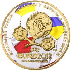 Ukraina 2012 1 Hryvnia Football Championship 2012 VÄRITETTY
