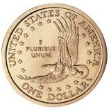 """USA 2000 $1 Sacagawea Native American """"D"""" UNC"""