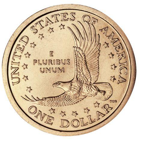 """USA 2000 $1 Sacagawea Native American """"P"""" UNC"""
