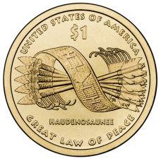 """USA 2010 $1 Sacagawea Native American """"D"""" UNC"""
