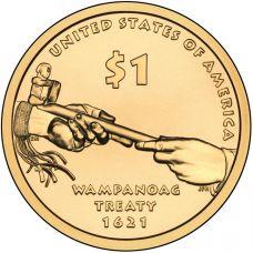 """USA 2011 $1 Sacagawea Native American """"D"""" UNC"""