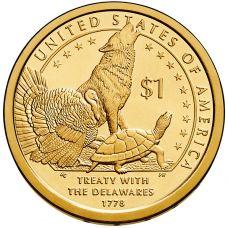 """USA 2013 $1 Sacagawea Native American """"D"""" UNC"""