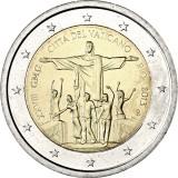 Vatikaani 2013 2 € 28. Maailman nuorten päivä - Rio de Janeiro UNC