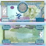 Burundi 2008 2 000 Francs P47 UNC