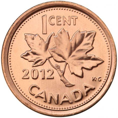 Kanada 2012 1 Cent UNC