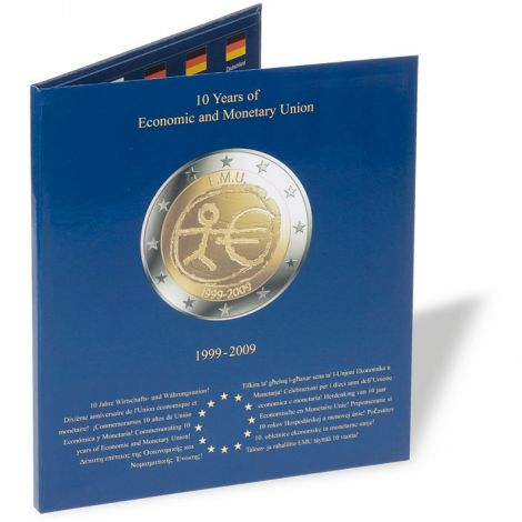 Kolikkokansio, Leuchtturm PRESSO 2 € EMU kolikoille (326564)