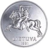 Liettua 1991 5 Centai UNC