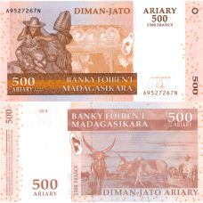 Madagaskar 2004 500 Ariary P88 UNC