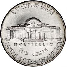 "USA 2006 $0,05 Jefferson - Monticello ""D"" UNC"