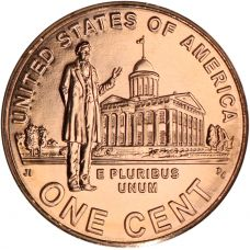 """USA 2009 $0,01 Lincoln Bicentennial - Professional Life in Illinois """"D"""" UNC"""