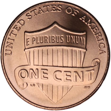 "USA 2018 $0,01 Lincoln - Union Shield ""P"" UNC"