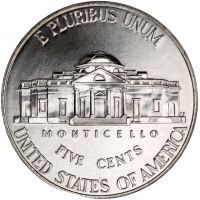 "USA 2011 $0,05 Jefferson - Monticello ""D"" UNC"