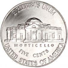 "USA 2014 $0,05 Jefferson - Monticello ""D"" UNC"